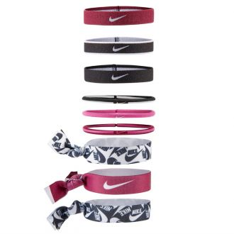 NIKE MIXED PONYTAIL HOLDER 9PK